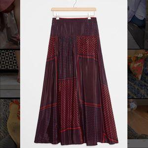 Anthropologie / NWT coleen maxi skirt